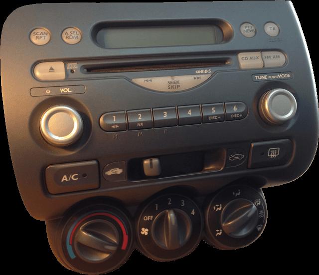 Honda Jazz radio MF624RV