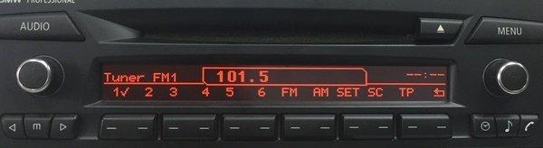Naprawa radia BMW CD73