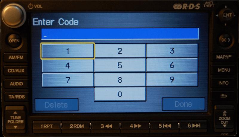 BB717PO Rozkodowanie nawigacji Honda Alpine opartych na LH28F128