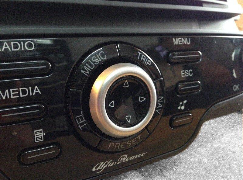 Kod do nawigacji Alfa Romeo Giulietta