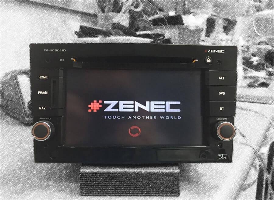 Odkodowanie Zenec ZE-NC5011D