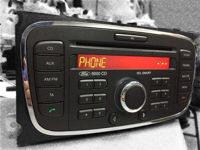 Ford 6000 zawieszone nakomunikacie PHONE