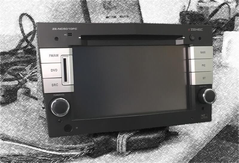 Zenec ZE-NC5010FC