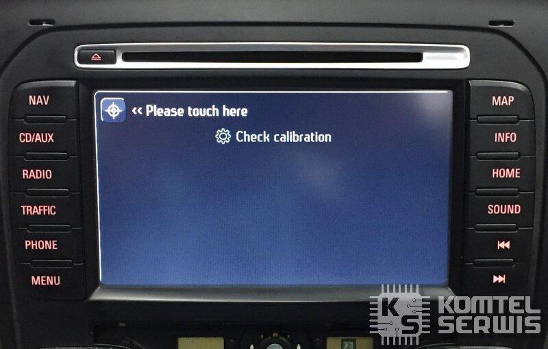 naprawa wyświetlacza hsrns, kalibracja ekranu