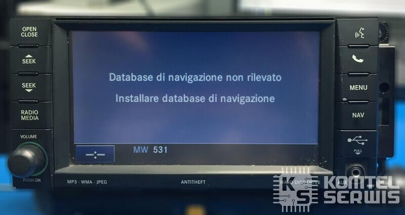 Nie działa funkcja nawigacji w RHW