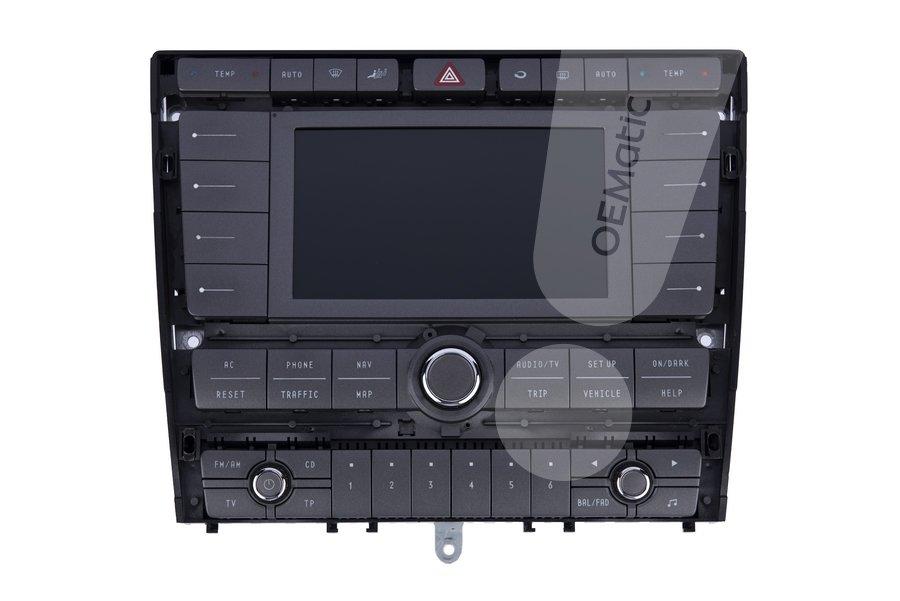 Czarny ekran nawigacji Phaeton