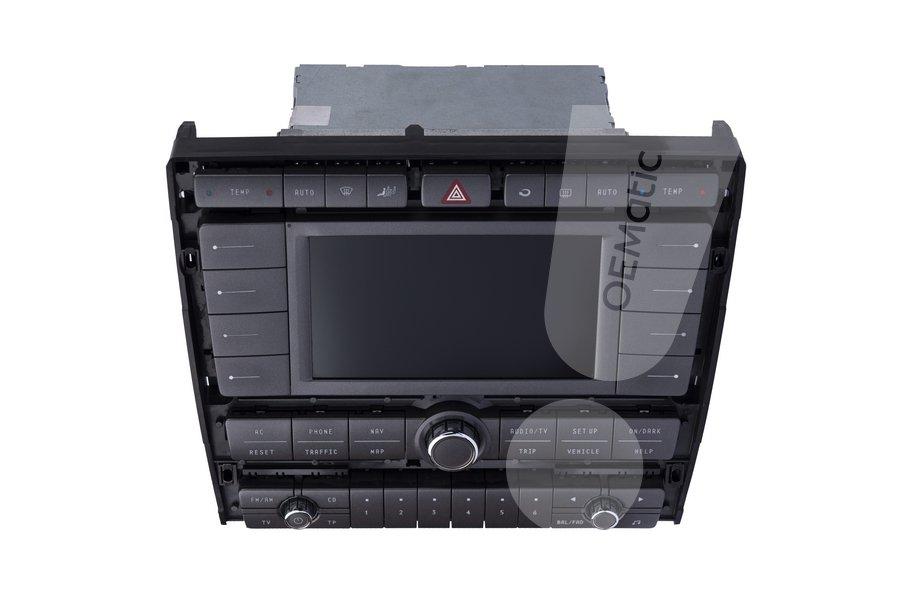 Usterka czarny ekran radia Phaeton