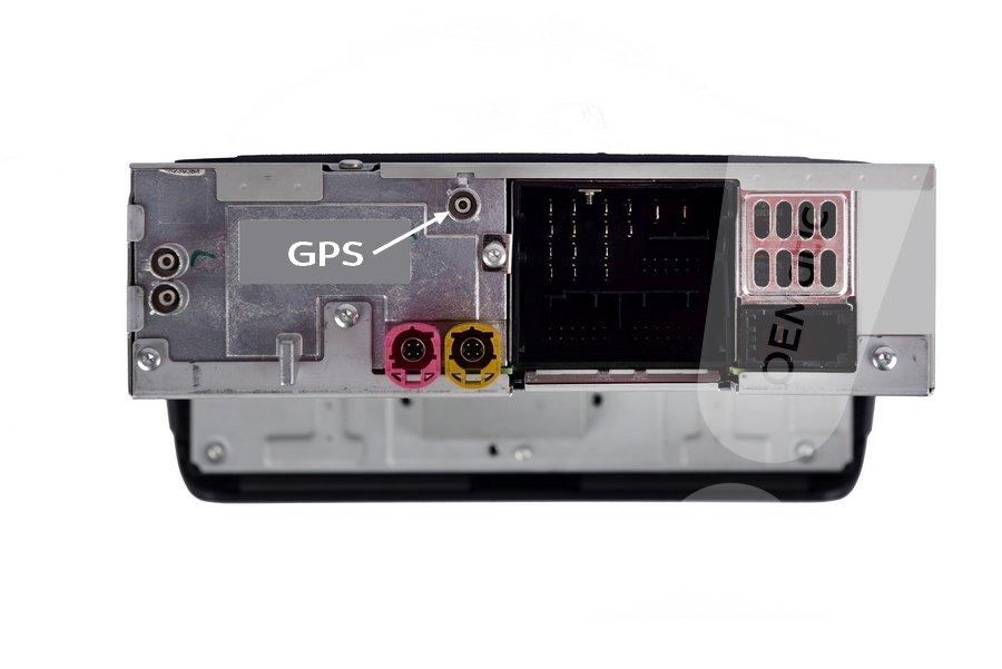 Audi RMC z gniazdem gps do nawigacji
